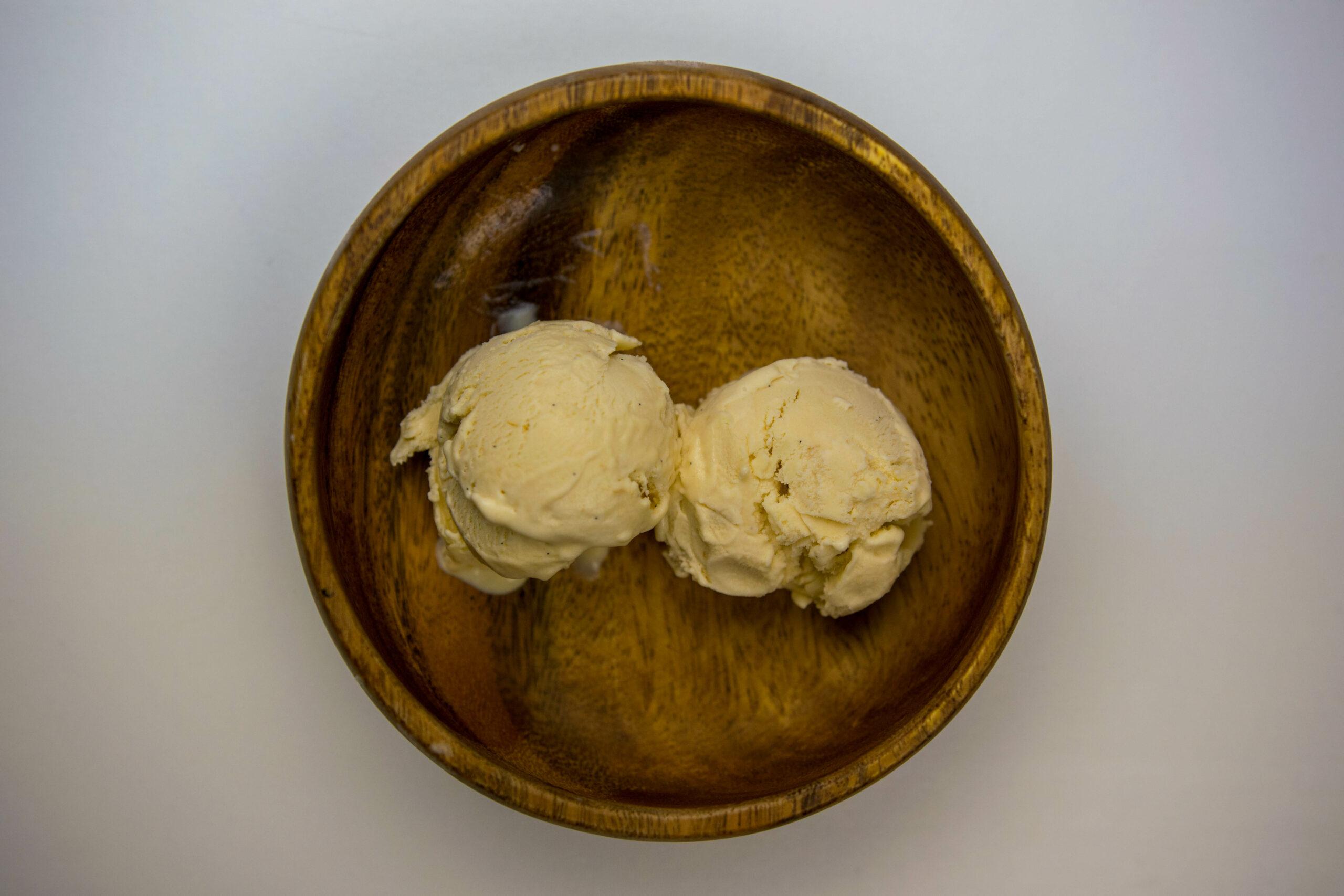 helado manzana a baja temperatura