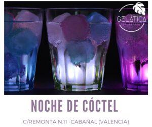 noches de coctel gelatica