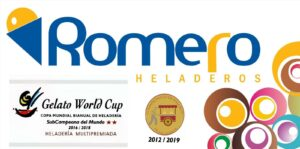 logo helados romero campeon