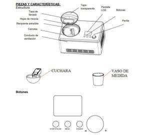 heladera compresor H. KOENIG HF320 LCD